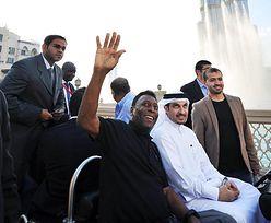 Pele promuje linie lotnicze Emirates