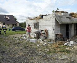 Zerwane dachy i połamane drzewa. Niszczące burze