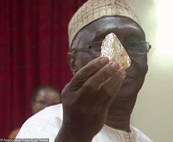 Pastor z Sierra Leone znalazł ogromny diament