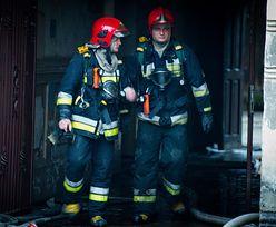 Pożar w Radomiu. Przyczyną papieros