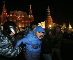 Proces Aleksieja Nawalnego. Ponad 100 zatrzymanych na wiecu poparcia