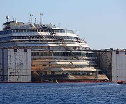 Wrak Costa Concordii opuści wyspę Giglio we wtorek