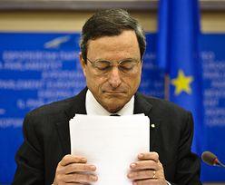 Draghi ściął dodruk o połowę. Góry wyprodukowanego z powietrza euro to już Himalaje