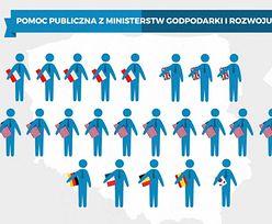Kto dostaje pomoc publiczną? Rząd wspiera głównie zagraniczne firmy