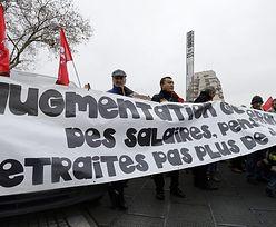 Rząd zamraża emerytury, francuscy emeryci demonstrują