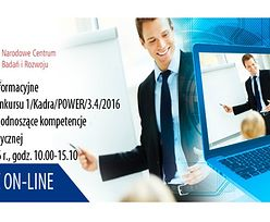 Spotkanie informacyjne dotyczące konkursu w ramach POW ER 2014-2020