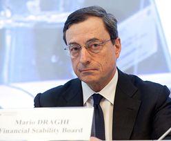 Kryzys w strefie euro zażegnany? Draghi optymistą