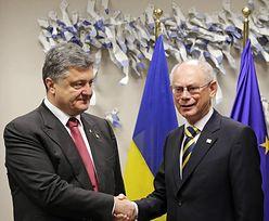 Wojna na Ukrainie. Poroszenko oczekiwany w Brukseli, walki w kraju nie ustają
