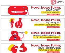 WP.pl reklamuje nową stronę główną.