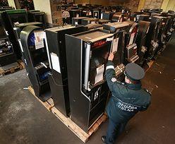 Skarbówka przejęła ponad 20 tys. nielegalnych automatów do gier