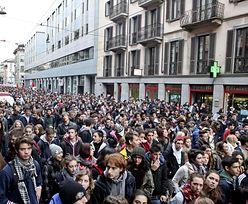 We Włoszech nawet uczniowie wyszli na ulice