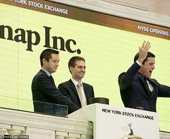 Wyniki Snapchata zachwyciły inwestorów. Notowania akcji wystrzeliły