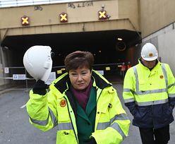 Prezydent ogłosiła kiedy otwarty zostanie tunel Wisłostrady