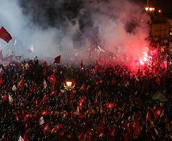 Demonstracje w Tunezji. Policja strzala w powietrze