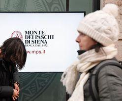 Bank Monte dei Paschi di Siena z wyższą pomocą od EBC. Premier Włoch zaskoczony