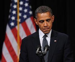 Strzelanina w Newtown. Emocjonalne przemówienie Obamy