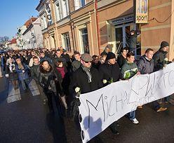 Marsz milczenia po zabójstwie ojca i syna