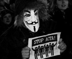 Protestujący przeciwko ACTA pod lupą