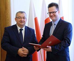 Andrzej Bittel nowym wiceministrem ds. kolei