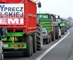 Drugi dzień rolniczej blokady na krajowej 10