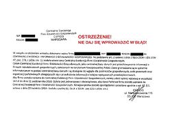 Wraca próba oszustwa na CEIDG. Ministerstwo ostrzega