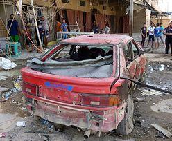 Zamachy w Iraku. Samochód pułapka zabił 18 osób na targu
