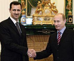 """Asad dziękuje Rosji za wsparcie w obliczu """"brutalnego ataku"""""""