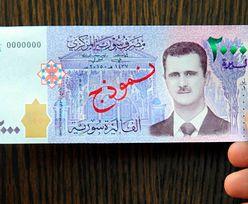 Baszar al-Assad umieścił swoją podobiznę na nowym banknocie