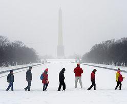 Atak zimy w USA. Wielkie Jeziora zamarzły niemal w całości