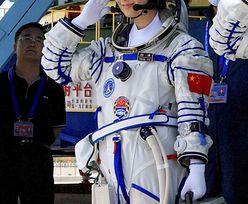 Chińczycy wysłali kobietę w Kosmos