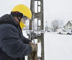 Atak zimy. Jeszcze 12 tysięcy gospodarstw bez prądu