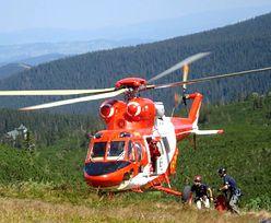 Akcja ratunkowa w Tatrach. Turyści poszli w góry w klapkach, złapał ich mróz