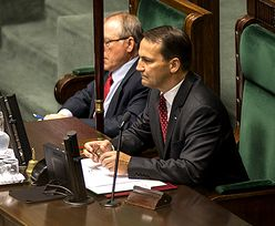 Wniosek o odwołanie Radosława Sikorskiego. Burzliwa debata skończona, głosowanie jutro