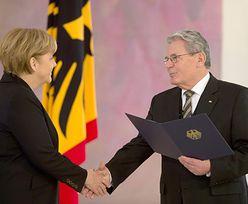 Merkel ponownie wybrana kanclerzem Niemiec. Złożyła przysięgę