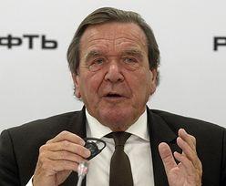 Były kanclerz Niemiec będzie zarabiał u Rosjan 600 tys. dolarów