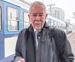COP24. Prezydent Austrii z przygodami dojechał do Katowic pociągiem