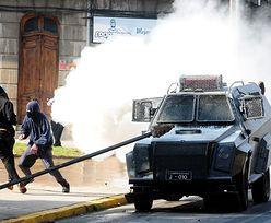 Zamieszki w Chile po proteście w sprawie bezpłatnych studiów