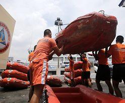 Tajfun Rammasun nadciąga nad Filipiny