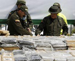 Przemyt narkotyków. Policja w Kolumbii skonfiskowała 7 ton kokainy