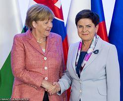 """""""Wall Street Journal"""" o wizycie Merkel w Polsce. """"Potrzebny jest reset w relacjach z Unią"""""""