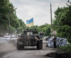 Walki na Ukrainie. Zlikwidowali punkt oporu prorosyjskich dywersantów