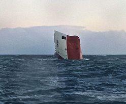 """Katastrofa statku z Polakami. """"Cemfjord"""" poszedł na dno, koniec akcji ratowniczej"""
