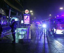 Awaria metra w Warszawaie. Pożar pociągu na stacji Politechnika