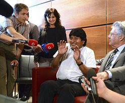 Madryt wydał zgodę na przelot samolotu prezydenta Boliwii