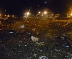 Katastrofa Boeinga 737 w Rosji. Samolot rozbił się przy lądowaniu