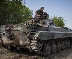 Wojna na Ukrainie. Separatysci dalej w natarciu