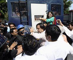 Protesty w Pakistanie. Premier grozi usunięciem obozowiska protestujących w stolicy