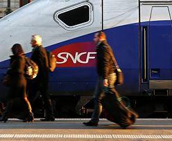 Strajk kolejarzy we Francji. Poważne utrudnienia w ruchu pociągów
