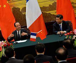 """Stosunki Chin z UE. """"Rozmawialiśmy szczerze o Tybecie"""" - stwierdził Hollande"""
