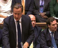 Interwencja w Syrii. Cameron: Nie chodzi o zmianę władz, lecz o ochronę cywilów